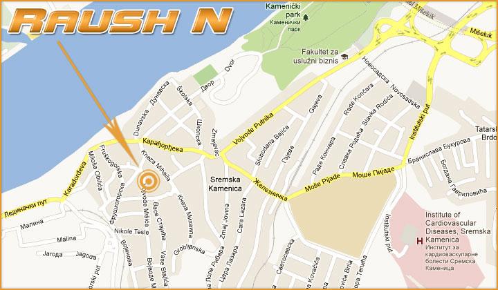 sremska kamenica mapa Raush N Novi Sad | Kovačka radionica | Kontakt sremska kamenica mapa
